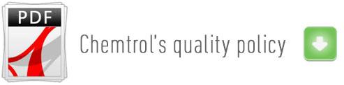 Política de calidad Chemtrol