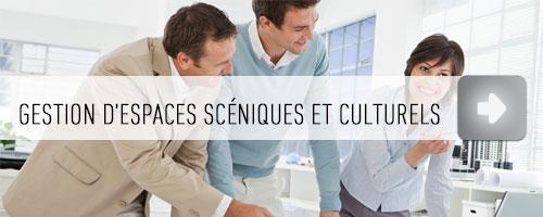 Gestion d'espaces scéniques et culturels (Externalisation)