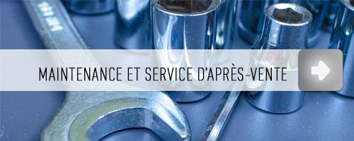 Maintenance et Service d'après-vente