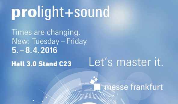 Prolight + Sound 2016